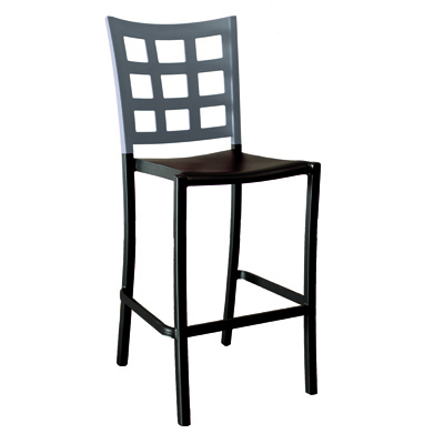 Grosfillex US640579 bar stool, stacking, indoor