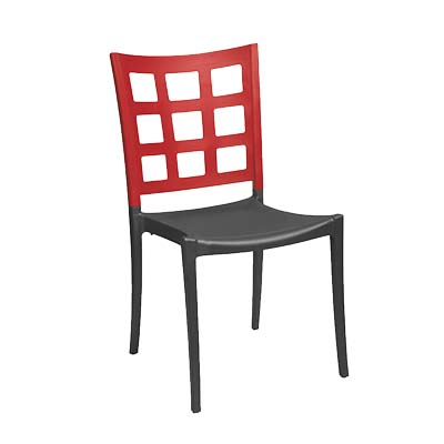 Grosfillex US648202 chair, side, stacking, indoor