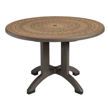 Grosfillex US715037 table, outdoor