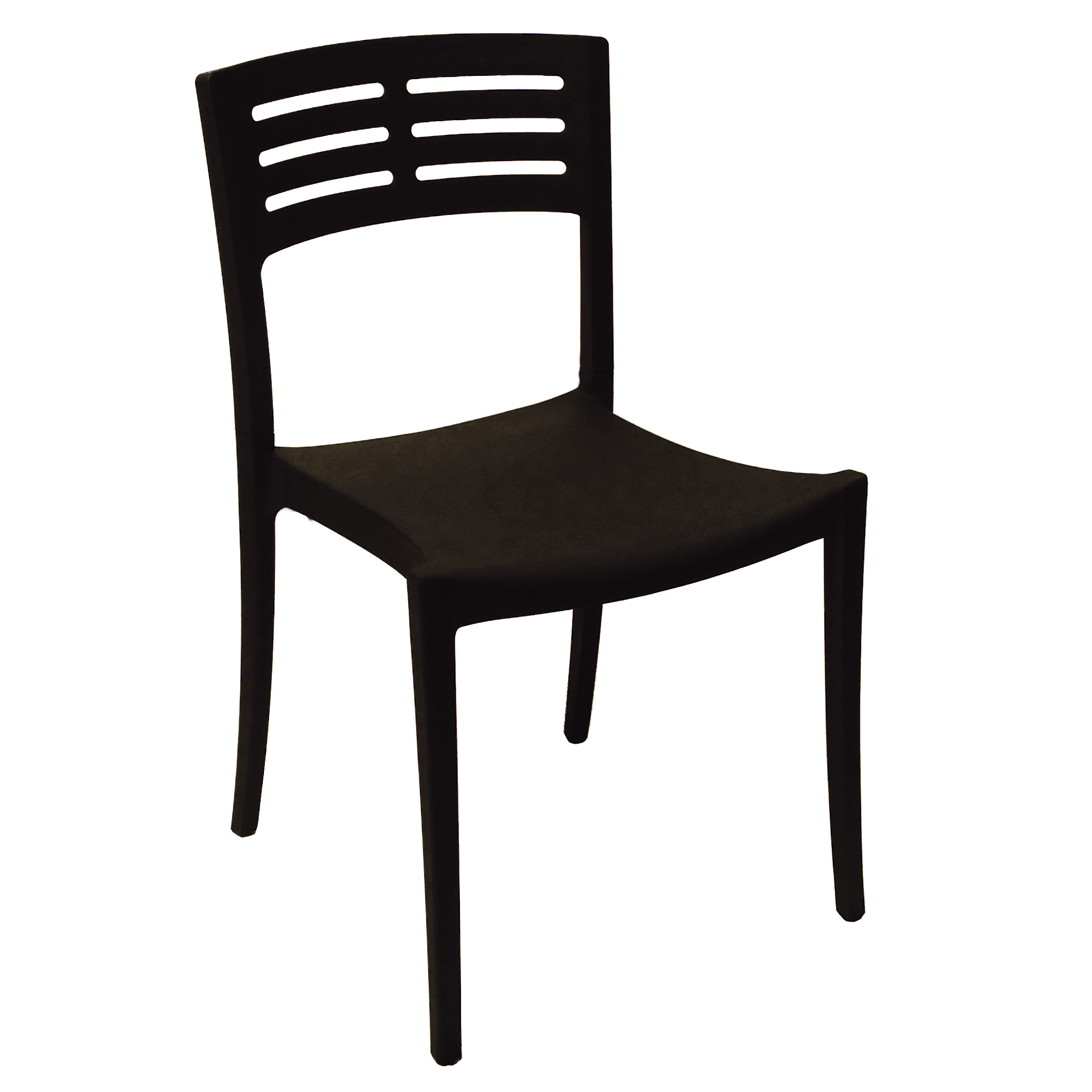 Grosfillex US738017 chair, side, stacking, outdoor