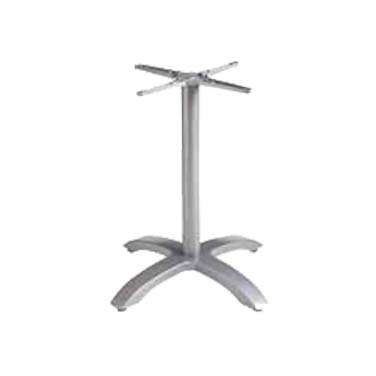 Grosfillex US740009 table base, metal