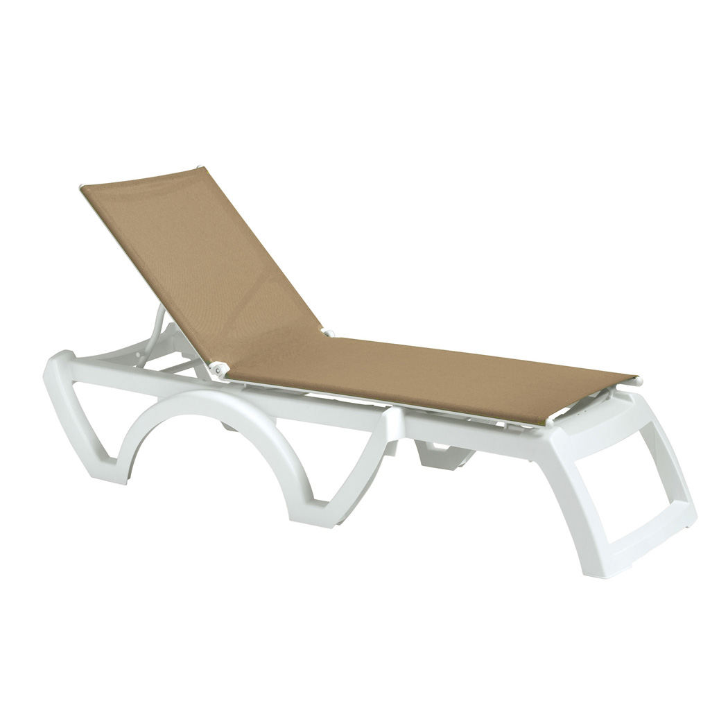 Grosfillex US746552 chaise, outdoor