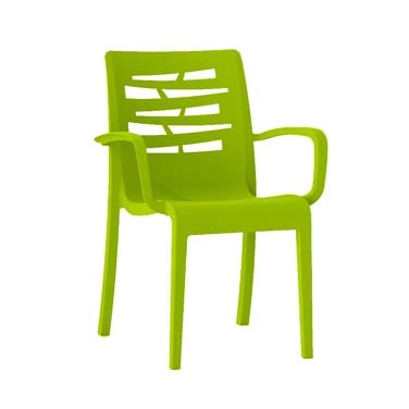Grosfillex US811152 chair, armchair, stacking, outdoor