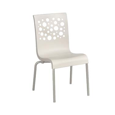 Grosfillex US835004 chair, side, stacking, indoor