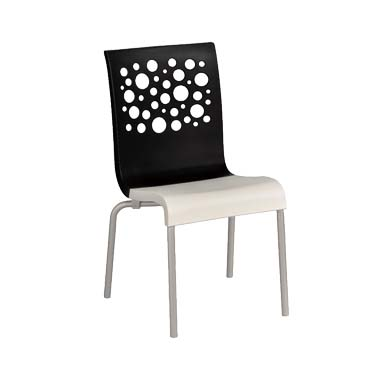 Grosfillex US835017 chair, side, stacking, indoor