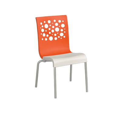 Grosfillex US835019 chair, side, stacking, indoor