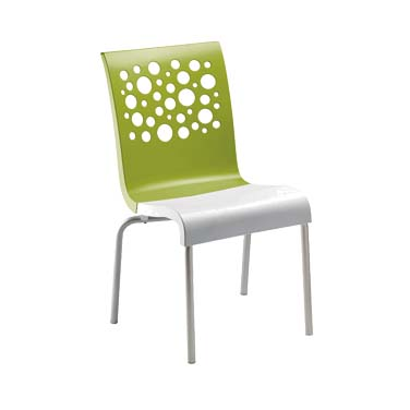 Grosfillex US835152 chair, side, stacking, indoor