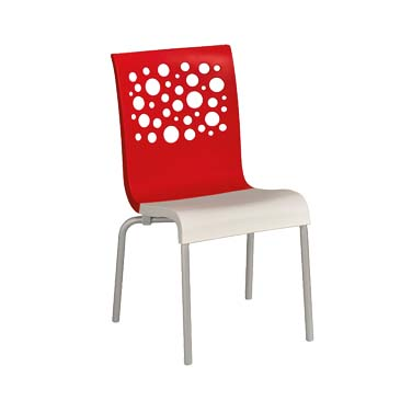 Grosfillex US835414 chair, side, stacking, indoor