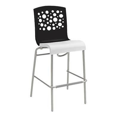 Grosfillex US836017 bar stool, stacking, indoor