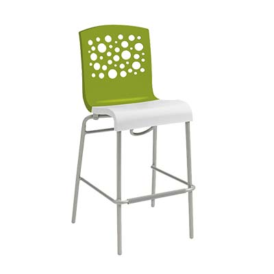 Grosfillex US836152 bar stool, stacking, indoor