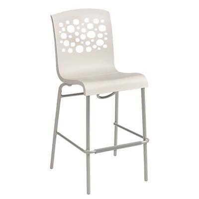 Grosfillex US838004 bar stool, stacking, indoor