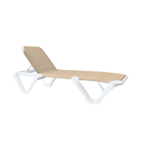 Grosfillex US894004 chaise, outdoor