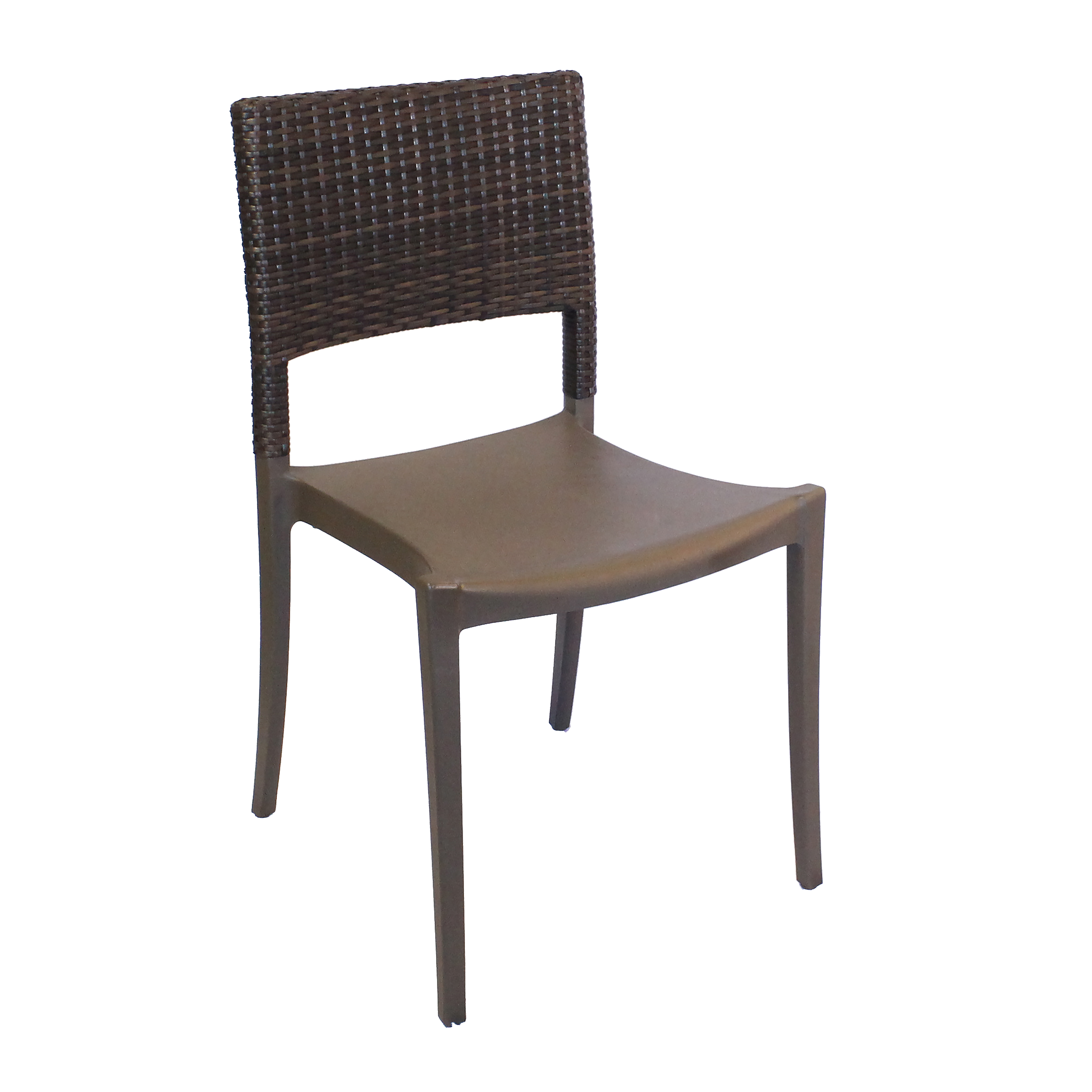 Grosfillex US925037 chair, side, stacking, outdoor