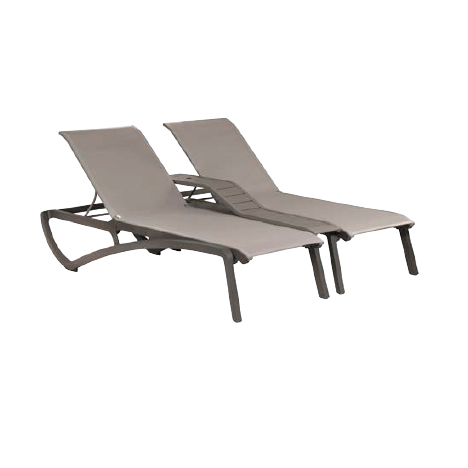 Grosfillex US946289 chaise, outdoor