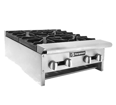 GSW USA AEHP60 hotplate, countertop, gas