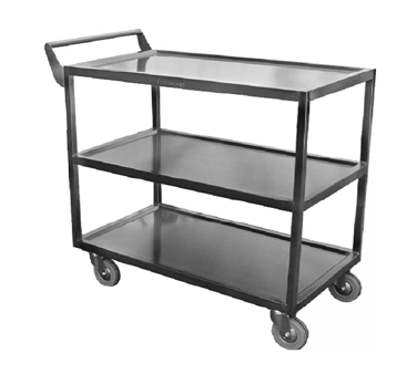 GSW USA C-4222 cart, bussing utility transport, metal