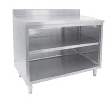 GSW USA CTN-P2460 work table, cabinet base open front