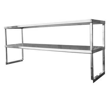 GSW USA DS-1836 overshelf, table-mounted