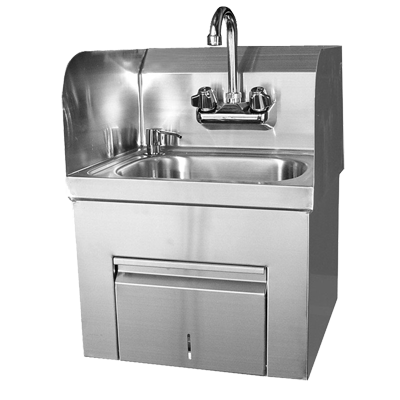 GSW USA HS-1217TS sink, hand