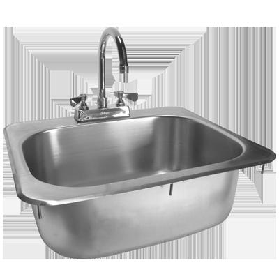 GSW USA HS-1317I sink, drop-in