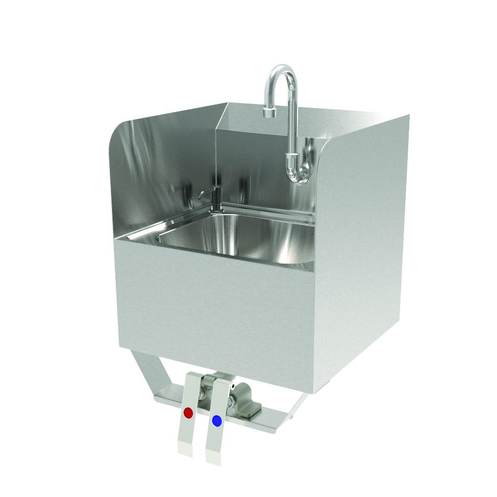 GSW USA HS-1615KS sink, hand
