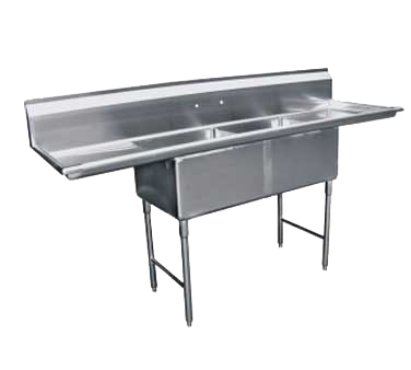 GSW USA SE15152D sink, (2) two compartment