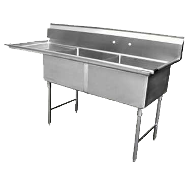 GSW USA SE15152L sink, (2) two compartment
