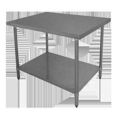 GSW USA WT-EE2460US work table, undershelf
