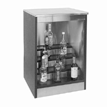 Glastender BLD-48 back bar cabinet, non-refrigerated