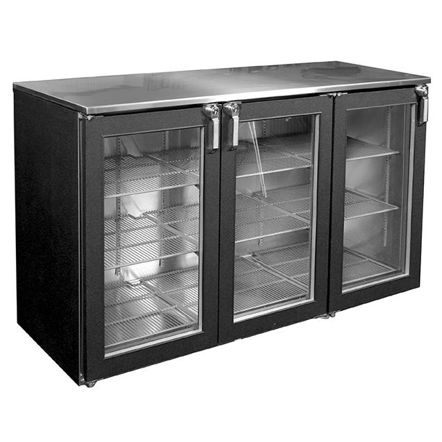 Glastender C1RB40 back bar cabinet, refrigerated