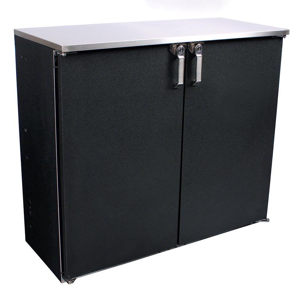 Glastender CS1RB40 back bar cabinet, refrigerated