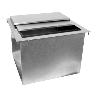 Glastender DI-IB18 ice bin, drop-in
