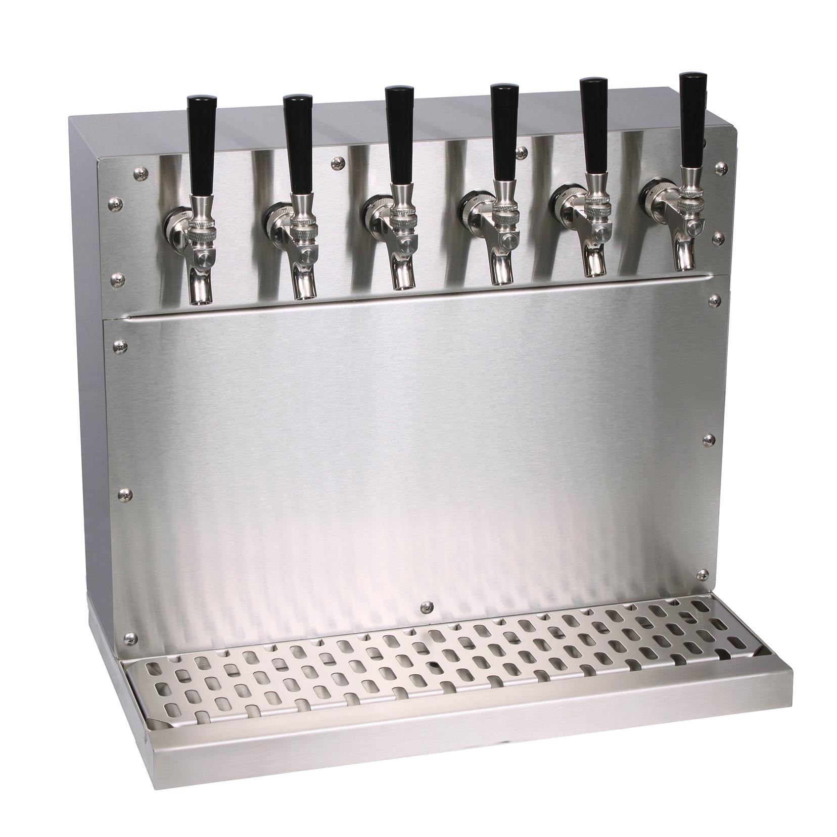 Glastender WT-6-SS draft beer / wine dispensing tower