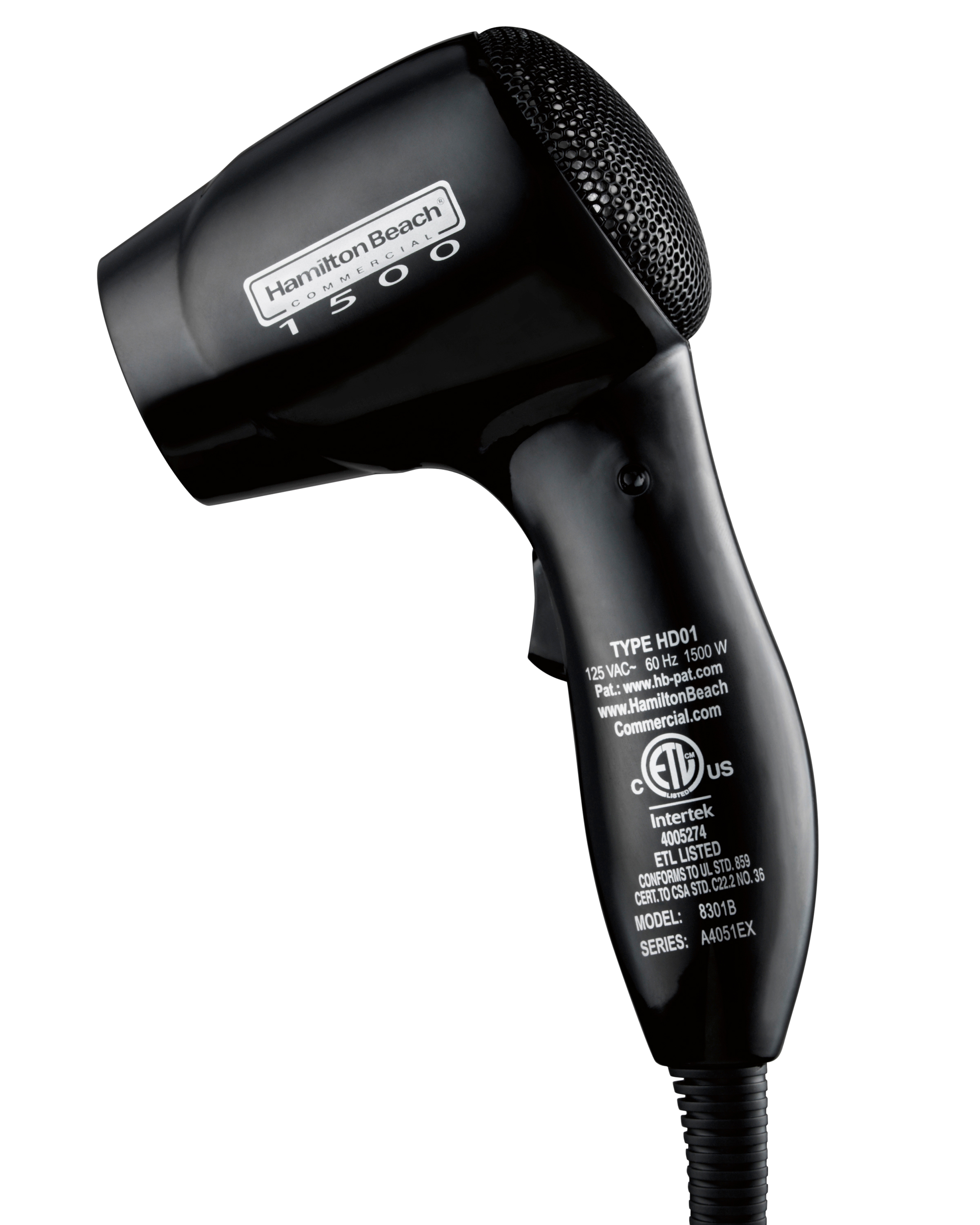 Hamilton Beach 8301B hair dryer