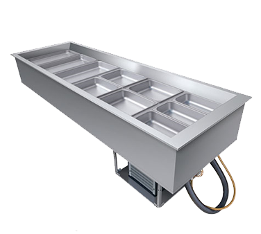 Hatco CWB-4 cold food well unit, drop-in, refrigerated