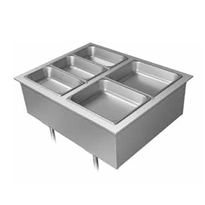 Hatco DHWBI-6 hot food well unit, drop-in, electric