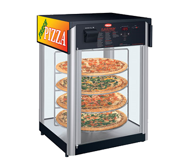 Hatco FDWD-2 display case, hot food, countertop