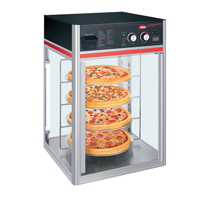 Hatco FSDT-1-120-QS display case, hot food, countertop