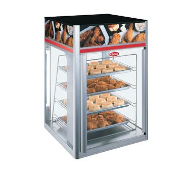 Hatco FSDT-2X display case, hot food, countertop