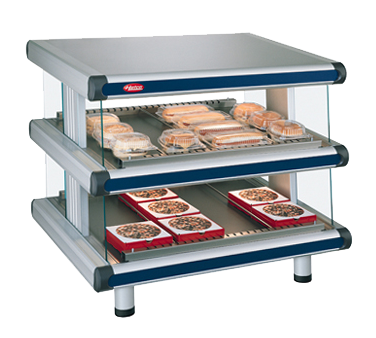 Hatco GR2SDS-42D display merchandiser, heated, for multi-product