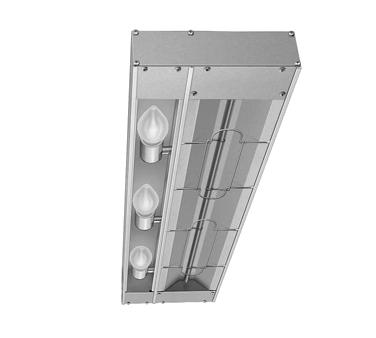 Hatco GRAM-42 heat lamp, strip type