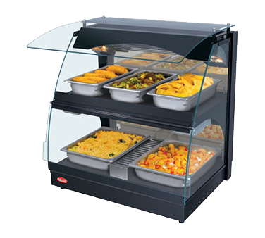 Hatco GRCMW-1DH display case, heated deli, countertop