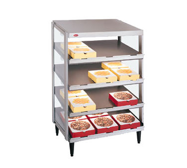 Hatco GRPWS-4824Q display merchandiser, heated, for multi-product