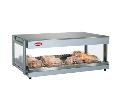 Hatco GRSDH-36 display merchandiser, heated, for multi-product