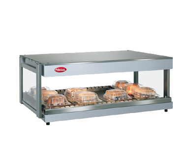 Hatco GRSDH-60 display merchandiser, heated, for multi-product