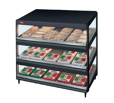 Hatco GRSDS-36T display merchandiser, heated, for multi-product