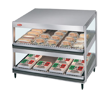 Hatco GRSDS-60D display merchandiser, heated, for multi-product