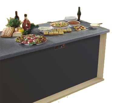 Hatco GRSSB-6018 heated shelf food warmer
