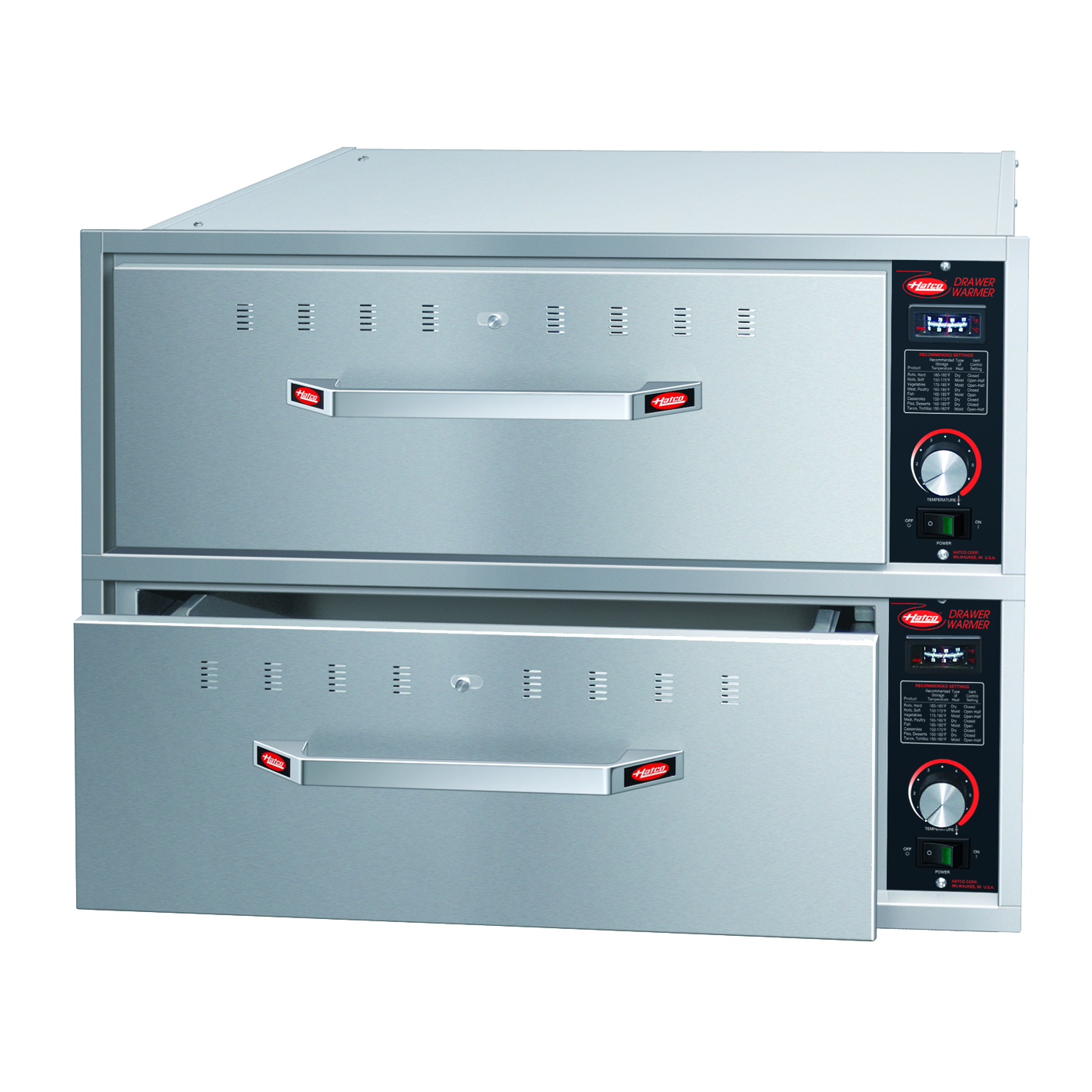 Hatco HDW-2BN warming drawer, built-in