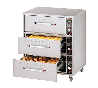Hatco HDW-3N warming drawer, free standing